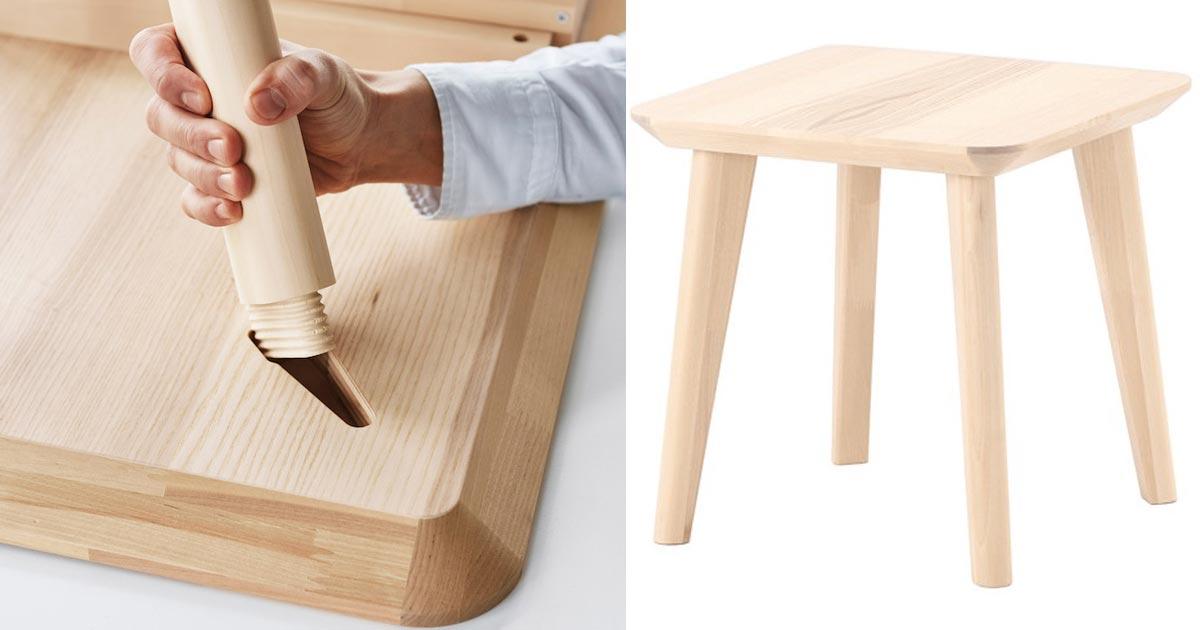Ikea presenta i mobili che si montano ad incastro senza l - Parquet ad incastro ikea ...