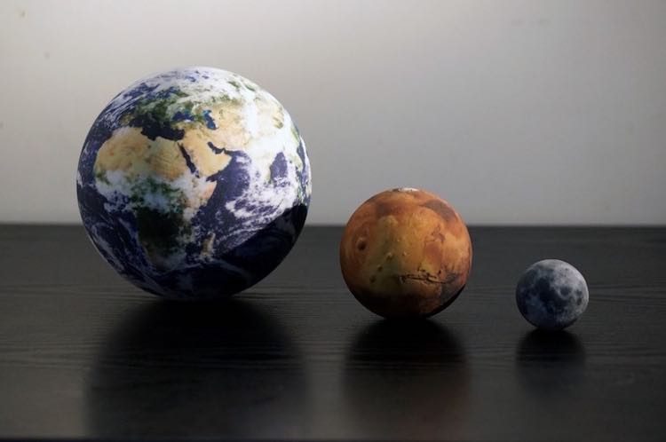 Little Planet Factory I Pianeti Stampati In 3d Per Tenere