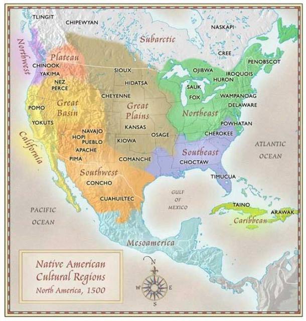 perch la mappa delle trib dei nativi americani non si trova sui libri di storia vanilla. Black Bedroom Furniture Sets. Home Design Ideas