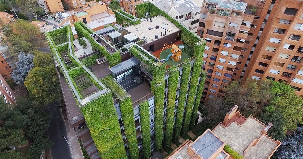 Il più grande Giardino Verticale al Mondo ha 115.000 piante nel ...