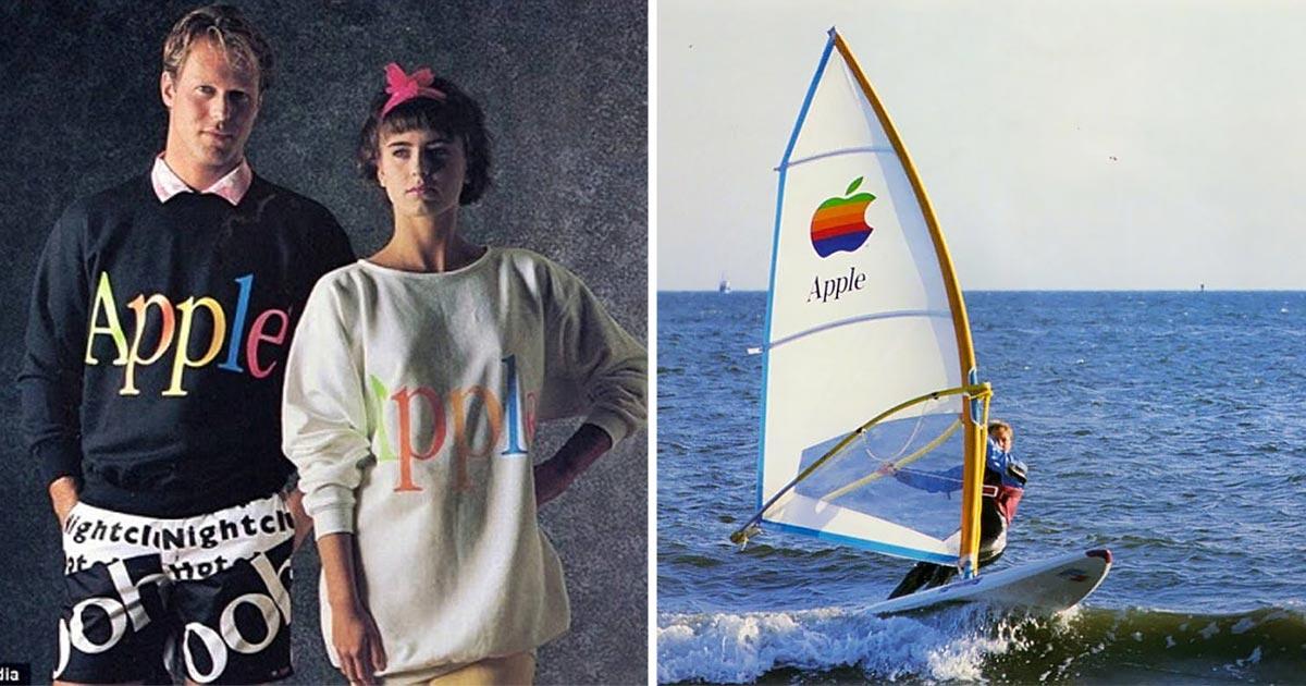 8bc1d131ffa6f9 Nel 1986 Apple tentò di conquistare il Mondo dell'Abbigliamento – Vanilla  Magazine