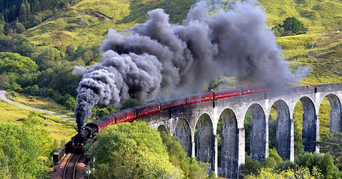 Espresso per Hogwarts: il magnifico Treno Panoramico che attraversa le Highland Scozzesi