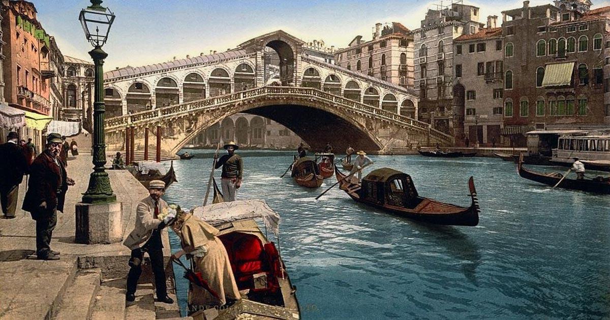Sfondi venezia gondola