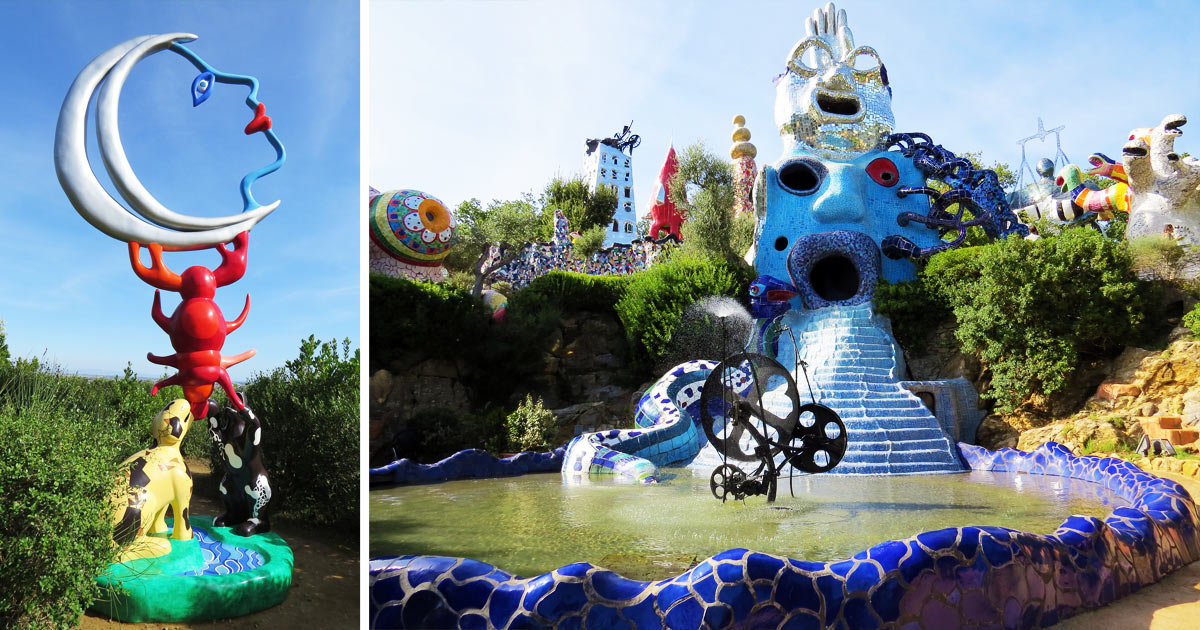 Il giardino dei tarocchi splendido parco toscano fra arte ed esoterismo vanilla magazine - Il giardino dei tarocchi ...