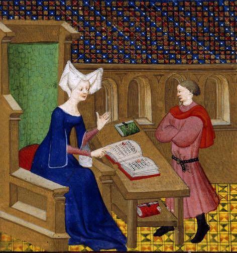 cristina da pizzano Christine de Pizan