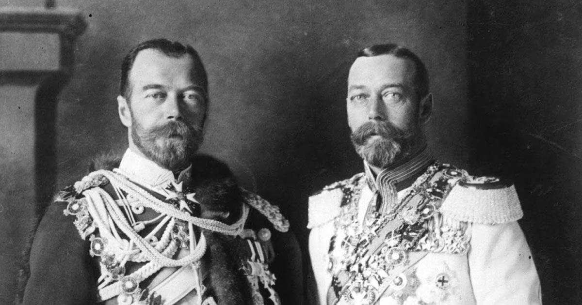 Giorgio v e nicola ii romanov cugini gemelli reali for Edoardo viii del regno unito