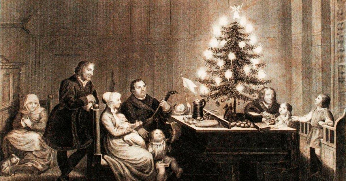 Antiche Immagini Di Natale.L Albero Di Natale Una Tradizione Dalla Storia Antichissima Vanilla Magazine