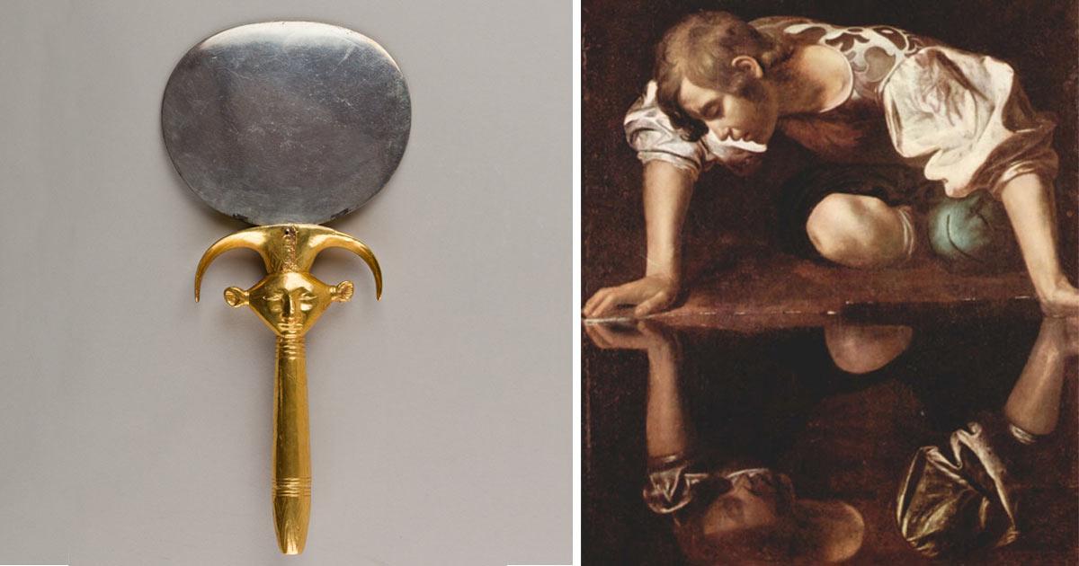Lo specchio una storia che inizia nell antico egitto vanilla magazine - Lo specchio nell arte ...
