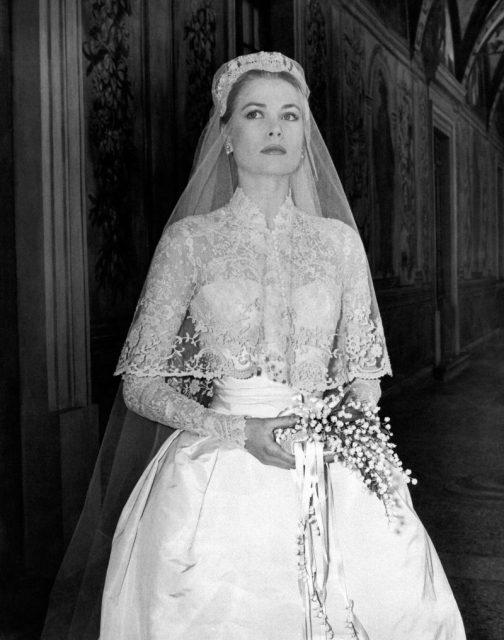 Bouquet Sposa Grace Kelly.L Abito Da Sposa Di Grace Kelly Icona Regale Di Una Principessa