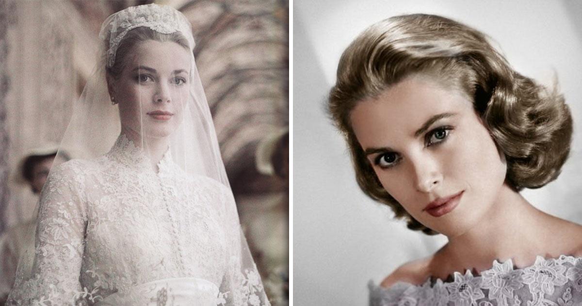 Scarpe Sposa Grace Kelly.L Abito Da Sposa Di Grace Kelly Icona Regale Di Una Principessa