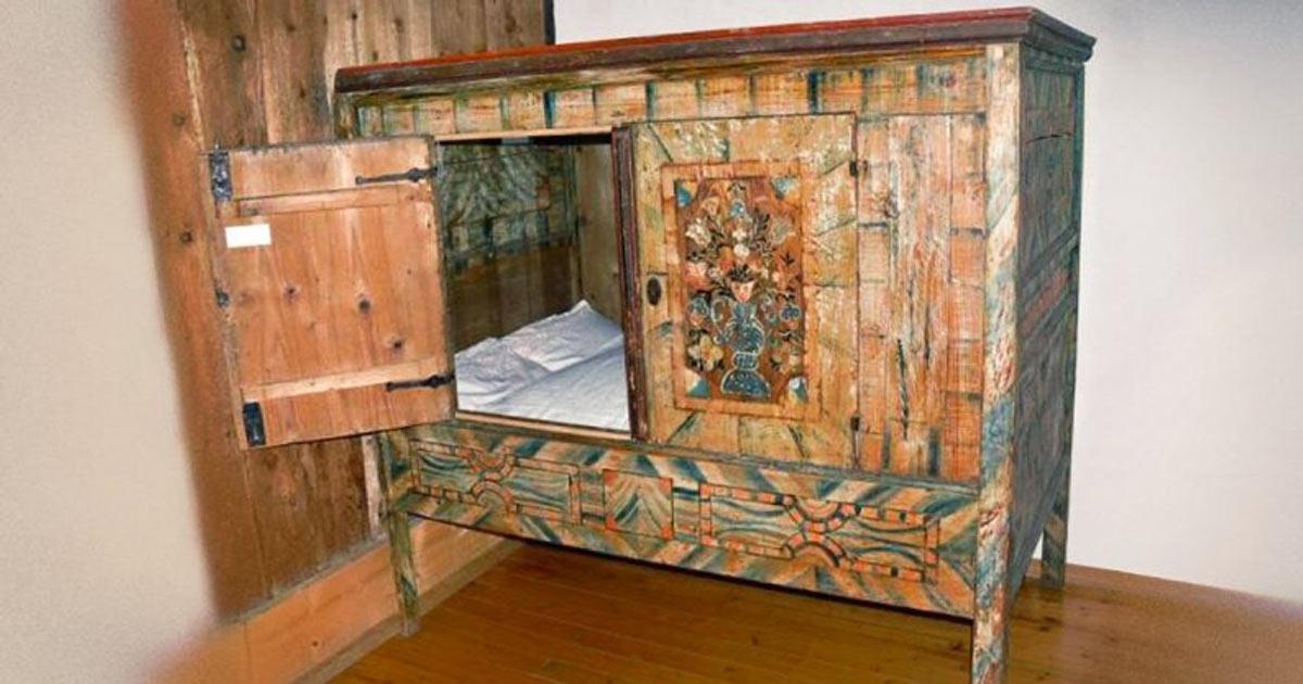 Camere Da Letto Medievali : Il u cletto chiusou d dal medioevo l idea perfetta per i moderni